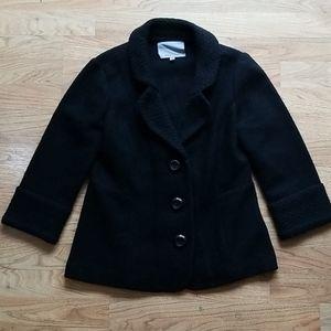 Classiques Entier 100% Wool Black Blazer SZ M